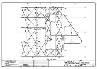 Onecad Steel Plan Drawing